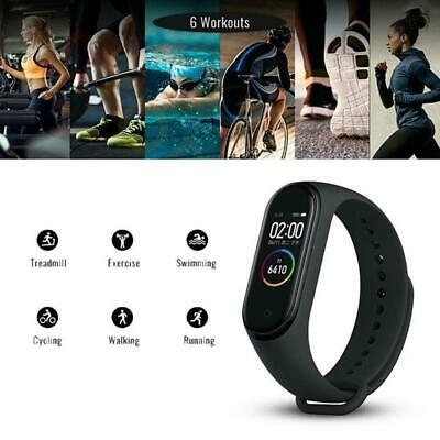 $ CDN8.69 • Buy M4 Smart Band Watch Bracelet Wristband Fitness Tracker Heart-Monitor Pressu U0Q2