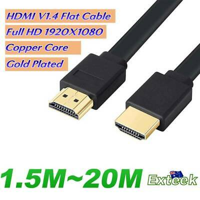 AU7.95 • Buy HDMI Cable 3D Ultra HD 1080p High Speed With Ethernet HEC ARC V1.4 AU
