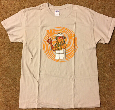 $80.50 • Buy Dr. Hunter S. Thompson Fear & Loathing In Las Vegas Lego Minifigure T-Shirt Rare