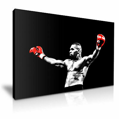 Mike Tyson Boxing Canvas WALL ART  20X30  INCHES • 25£