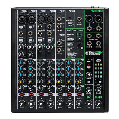 $229.99 • Buy Mackie ProFX Series, Mixer - Unpowered, 10-Channel W/USB (ProFX10v3)