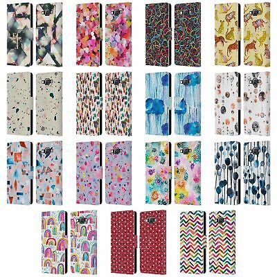 $24.78 • Buy Official Ninola Patterns 3 Leather Book Wallet Case Cover For Samsung Phones 2