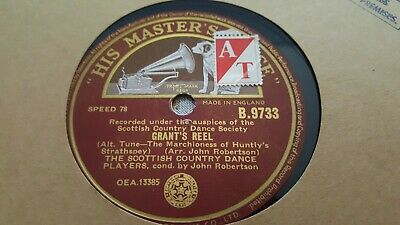 The Scottish Country Dance Players Grants Reel & The Bottom Of The Hmv B9733 • 2.99£