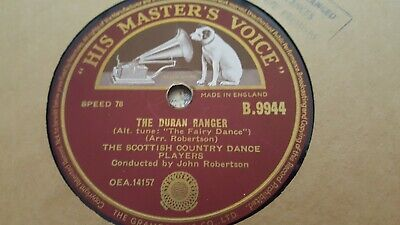 The Scottish Country Dance Players The Duran Ranger & Foursome Reel Hmv B9944 • 2.99£