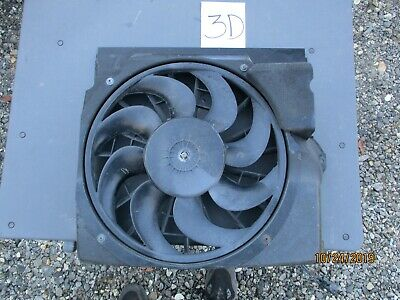 $109.99 • Buy BMW E36 3-Series Aux Auxiliary AC Cooling Pusher Fan W Shroud 1992-1999 OEM USED