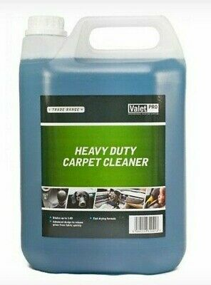 Heavy Duty Carpet Shampoo Cleaner Upholstery Odour Cleaning Detergent 5L  • 16.99£