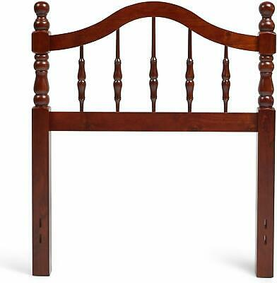 $136.90 • Buy Cherry Finish Twin Full Queen Wooden Spindle Headboard Bed Frame Mount Bedroom