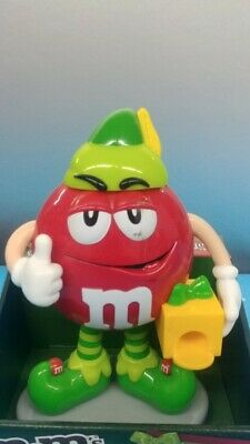 $22.88 • Buy M&M Candy Dispenser   Santa's LiL ELF  New In Box Christmas Holiday