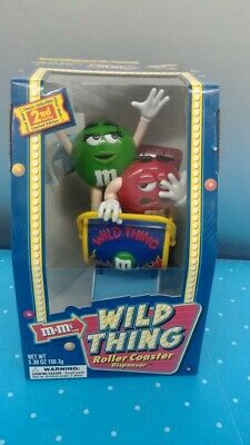 $21.88 • Buy M&M Candy Character Dispenser New In Box 'Wild Thing  Roller Coaster