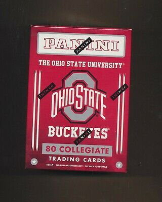 $8.49 • Buy 2015 Panini OHIO STATE BUCKEYES Factory Sealed Box 10 Packs  (1) Auto Or Jersey