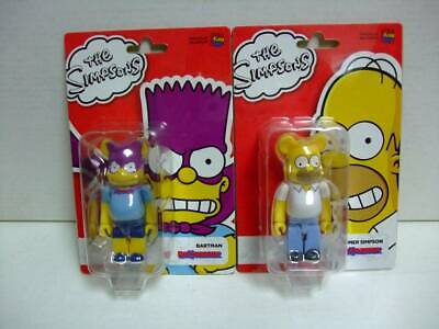 $139.99 • Buy BE@RBRICK 100% The Simpsons BARTMAN & HOMER SIMPSON Set Lot Of 2 Rare Bearbrick