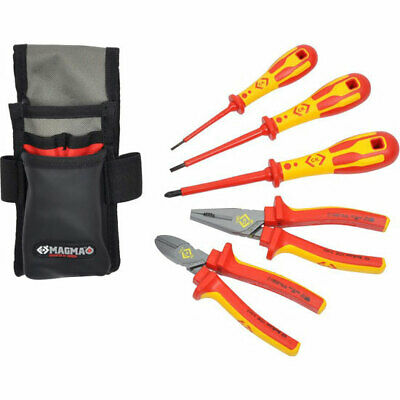 CK 5 Piece VDE Insulated Electricians Tool Kit • 105.95£