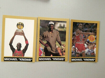 1990's Gold Border Michael Jordan Knows Slam Dunk Competitions, Golf, Offense • 13$