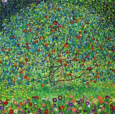 Gustav Klimt New Apple Tree 30  X 30  Canvas Art • 30£
