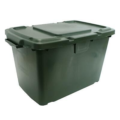 Coral 55 Litre Green Outdoor Kerbside Waste Recycling Box/Storage Box &Green Lid • 19.99£