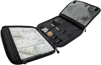 $34.99 • Buy Black Tactical Map Case Board Enhanced Scout Document Notebook Holder Cover