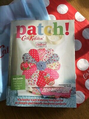 Cath Kidston Patch Sewing Craft Book New With Gift Bags  • 10£
