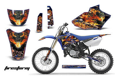 AU252.65 • Buy Dirt Bike Decal Graphics Kit MX Sticker Wrap For Yamaha YZ85 2002-2014 FRSTRM K