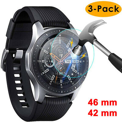 AU6.99 • Buy Compatible Samsung Galaxy Watch Tempered Glass Screen Protector For Galaxy Watch