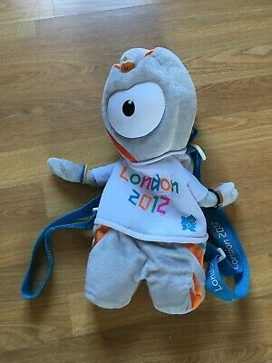 £14.99 • Buy Official Product London 2012 Mascot Wenlock Soft Toy Rucksack Bag