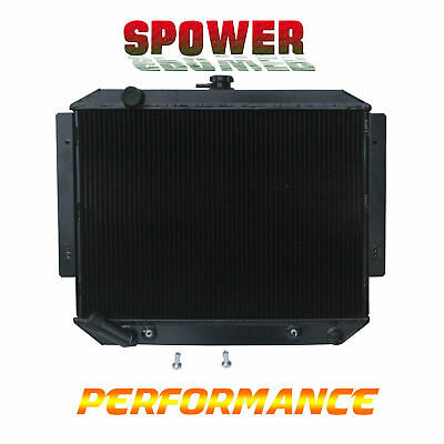 AU210 • Buy Black Aluminum Radiator For Mitsubishi Pajero NH NJ NL NK 3.0L V6 Petrol 1991-97