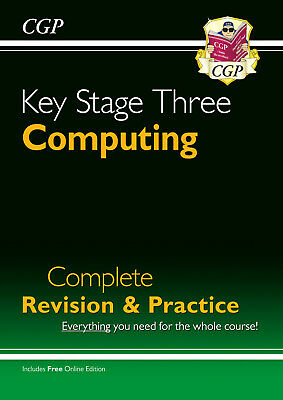 £10.79 • Buy New KS3 Computing Complete Revision & Practice By CGP Books