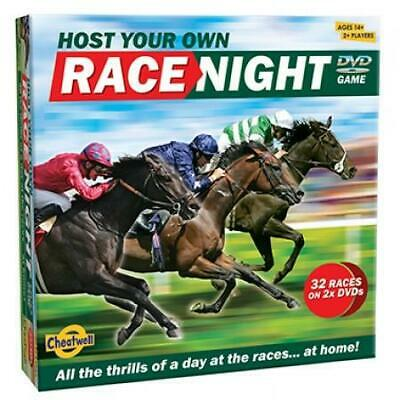 £19.99 • Buy Cheatwell Games Host Your Own Horse RACE NIGHT DVD Game