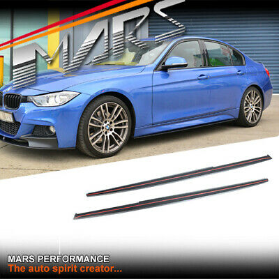 AU299.99 • Buy Matt Black M Tech Sport Style Side Skirt Lip Spoiler For BMW F30 Sedan F31 Wagon