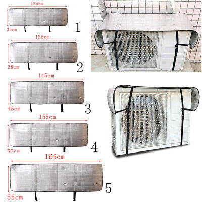 AU14.17 • Buy Aluminum Nylon Air Conditioner Cover Outdoor Waterproof Protection Cover