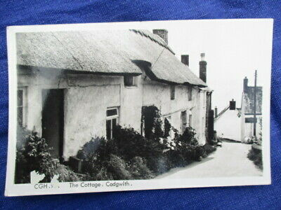 £4.90 • Buy VINTAGE POSTCARD - The Cottage Cadgwith