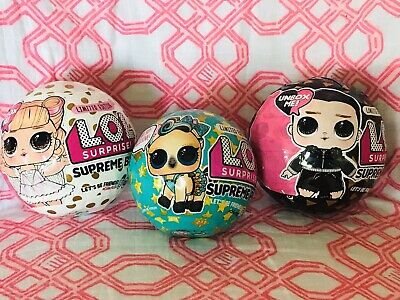 $ CDN131.23 • Buy NEW LOL Surprise Doll SUPREME BFFs Leather & Lace + PET Pony LUXE Limited  Lot