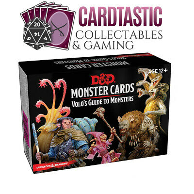 AU27.50 • Buy D&D Spellbook Cards Monster Cards Volo's Guide To Monsters