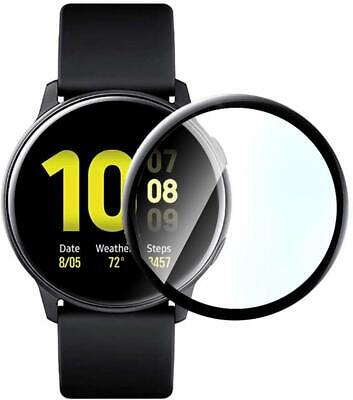 AU6.99 • Buy Galaxy Watch Active 2 Screen Protector 3D Full Cover For Samsung Active 2 44/40