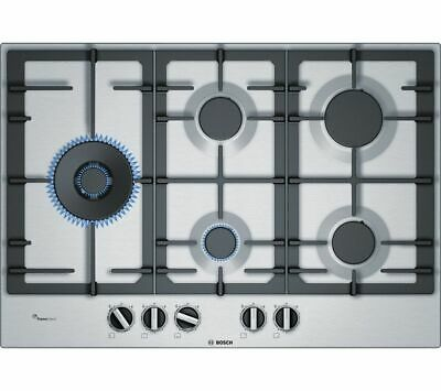 BOSCH Serie 6 PCS7A5B90 Gas Hob - Stainless Steel - Currys • 497£