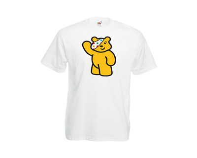 £9.99 • Buy T-shirt Spotty Bear Pudsey Kids -adults  10%children In Need