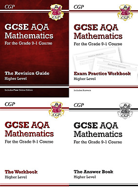 £18.89 • Buy GCSE Maths AQA Revision Bundle For The 9-1 Exam By CGP Books New Paperback Book