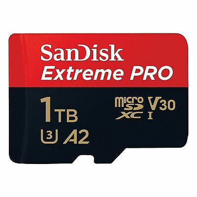 $369.99 • Buy Sandisk Micro SD 1 TB Extreme Pro 170MB/s Read 90MB/s Write Flash Memory Card Ct