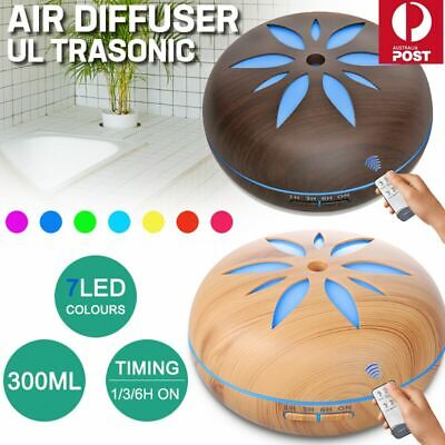 AU26.99 • Buy Aroma Aromatherapy Diffuser Essential Oil LED Ultrasonic Humidifier Air Purifier