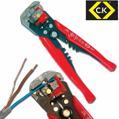 £18.75 • Buy CK 495001 Adjustable Automatic Wire/Cable Cutter/Stripper,Crimping/Crimper Plier