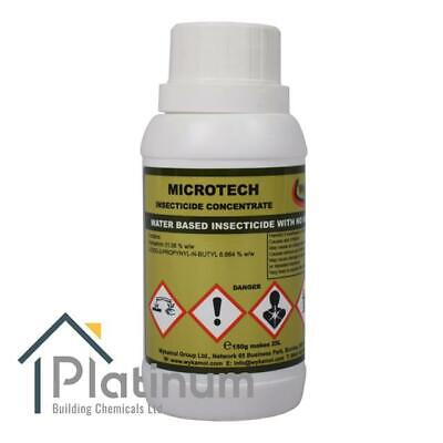 Wykamol MICROTECH Woodworm Killer - 150g Conc   Wood Treatment Insecticide Spray • 20.95£