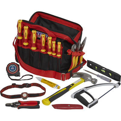 Sealey 19 Piece Electricians Tool Kit In Tool Bag • 158.95£