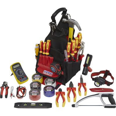 Sealey 23 Piece Electricians Tool Kit In Tool Bag • 196.95£