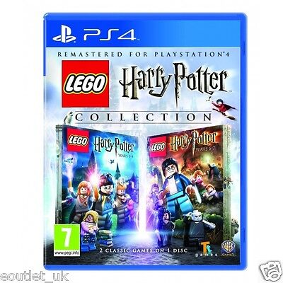 AU28.88 • Buy Lego Harry Potter PS4 Collection Kids Game For PlayStation 4  NEW & SEALED UK