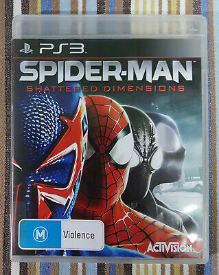 AU51 • Buy Spider-Man: Shattered Dimensions (Sony PlayStation 3, 2010) AUS