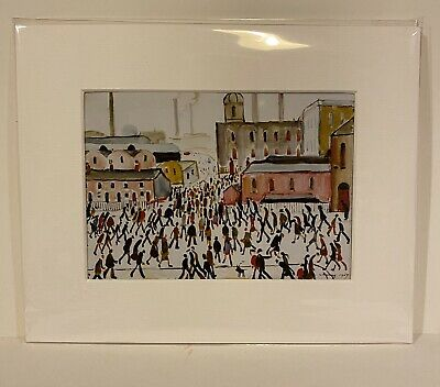 SMALL LS Lowry Prints In Mount Ready To Frame - Just £5!!! • 5£
