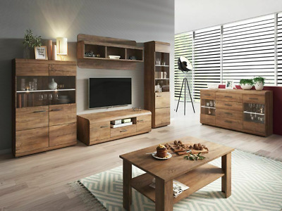 Living Room Furniture Set Tv Unit Display Stand Wall Mounted Cupboard Cabinet • 85£