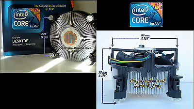 $ CDN56.17 • Buy Desktop Heatsink Cooler Fan For Intel 900 Series Socket LGA1366 Processor CPU