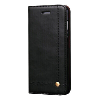 AU12.23 • Buy Retro Wallet Folding Flip Case With Card Holders Cover For Apple IPhone X XS