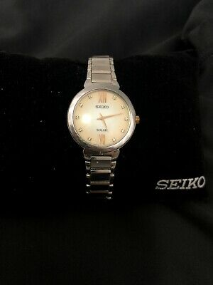 $ CDN85 • Buy Seiko Solar V115 Womens Diamond Accent Watch SUP381