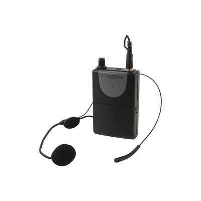 QTX 178.892UK Microphone Headset And Adastra Portable PA Units QXPA Speakers VHF • 24.09£